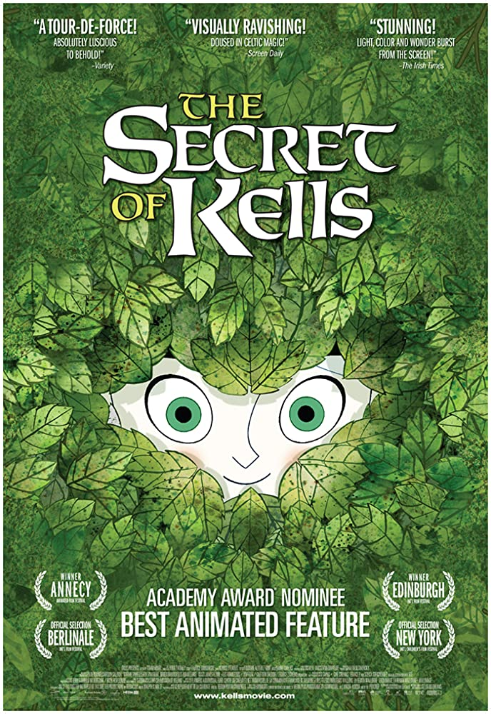 "Movie poster for ""The Secret of Kells"""